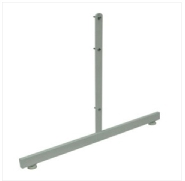 Gondola Base For Gridwall with Levelers