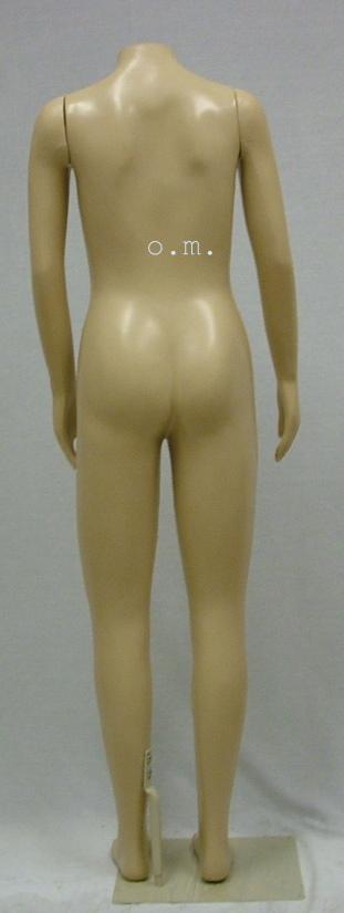 Female Teen Girl Brazilian body