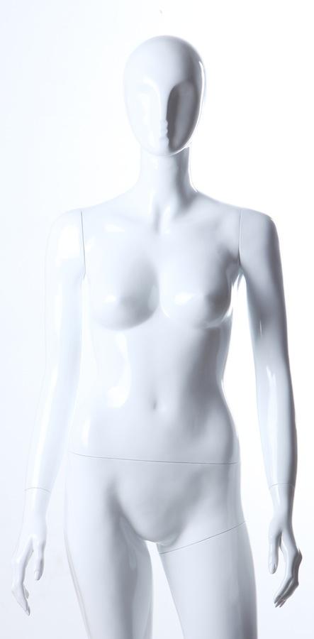 Female Fiberglass Glossy LS7W Mannequin