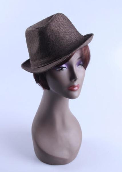 Female Realistic Fiberglass Head 13