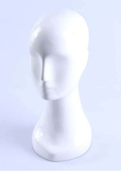 Female Realistic Fiberglass Head 24