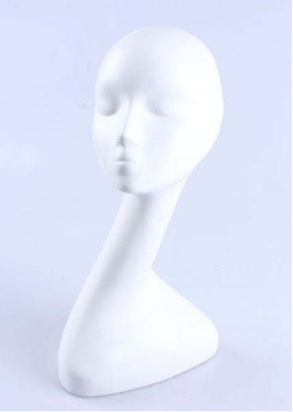 Female Realistic Fiberglass Head 71