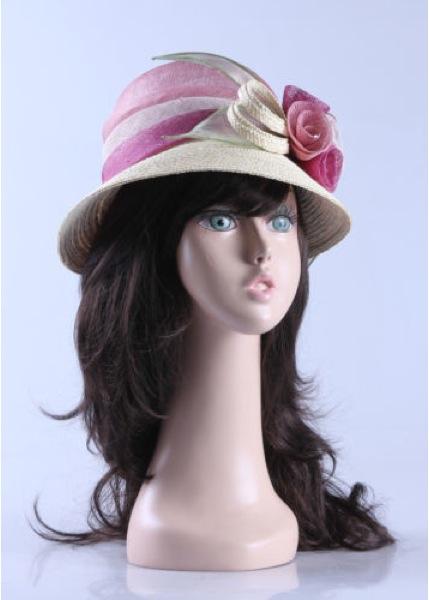 Female Realistic Fiberglass Head 870