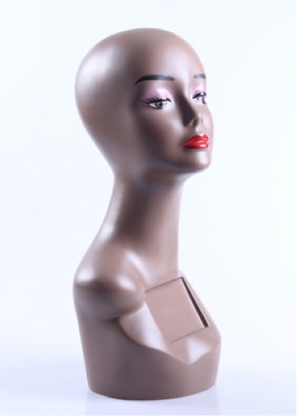 Female Realistic Fiberglass Head ZLXTT5