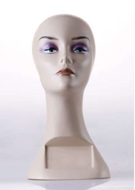 Female Realistic Fiberglass Head ZLXTT7