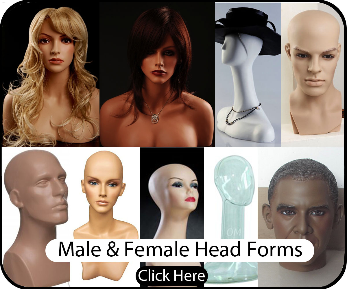 Male and Female Heads