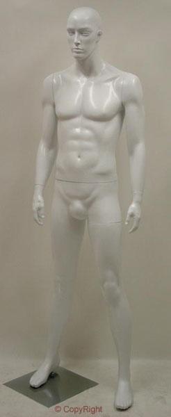 Male Fiberglass White