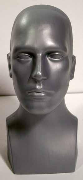 Male Head Grey