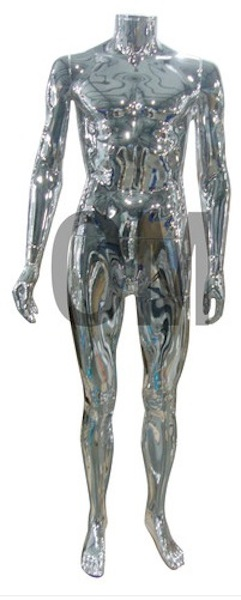 NEW MALE MANNEQUIN CHROME SMH1