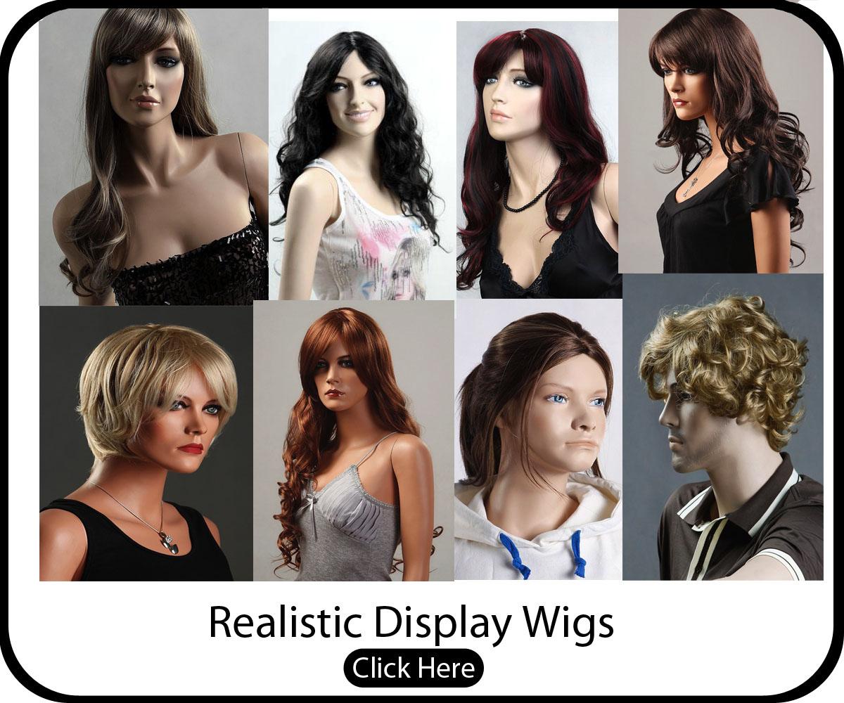 Premium Display Wigs