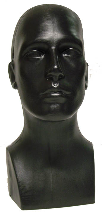 Male Head Black