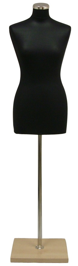 Pinnable Female Mannequin Dress Form 38P1BN
