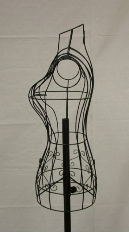 Wire Dress Form SKMD01BWire Dress Mannequin
