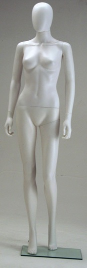 FEMALE MANNEQUIN EGGHEAD DURABLE W/ MOVABLE HEAD (EF2