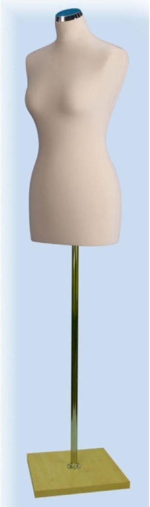 Pinnable Female Mannequin Dress Form 38P1WN