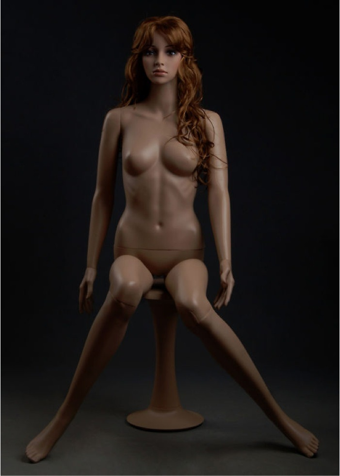 Sexy Glamorous Plastic Mannequin Sitting Alicia F6