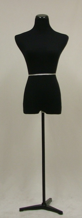Female Mannequin Dress Form Steel Tripod Base AT45