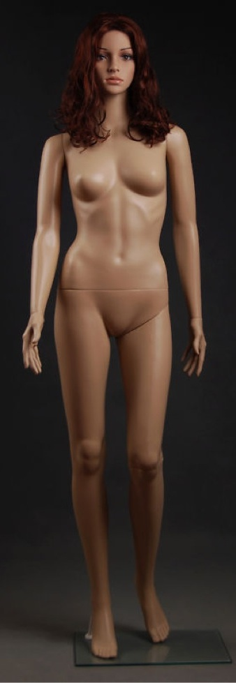 Sexy Glamorous Plastic Mannequin Cheryl F7