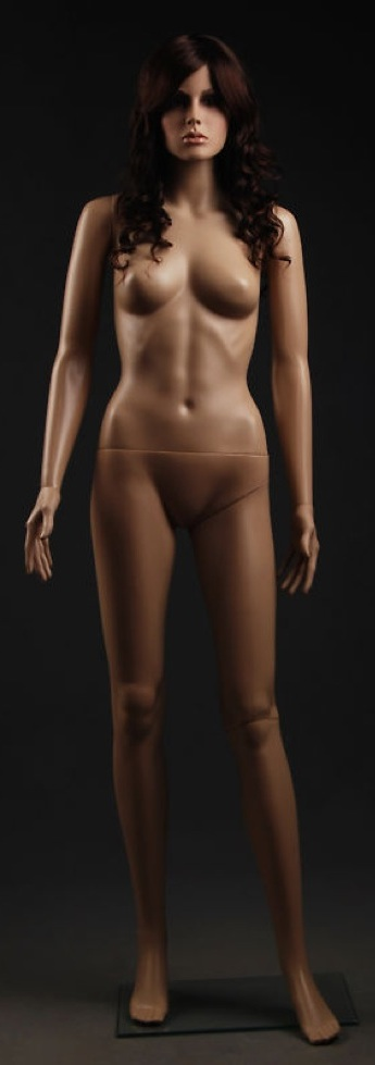 Sexy Glamorous Plastic Mannequin Gina F5