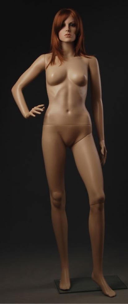 Sexy Glamorous FiberGlass Mannequin Heidi F9
