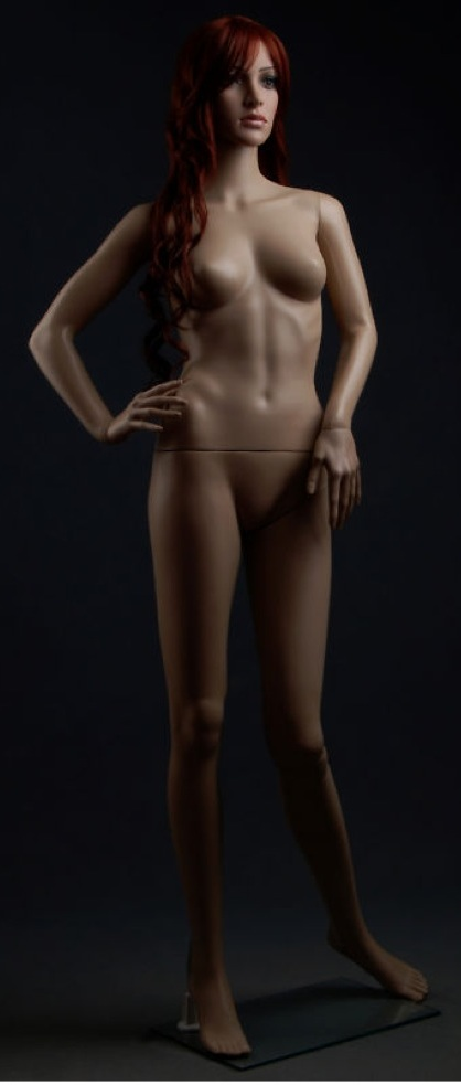 Sexy Glamorous Plastic Mannequin Nancy F8