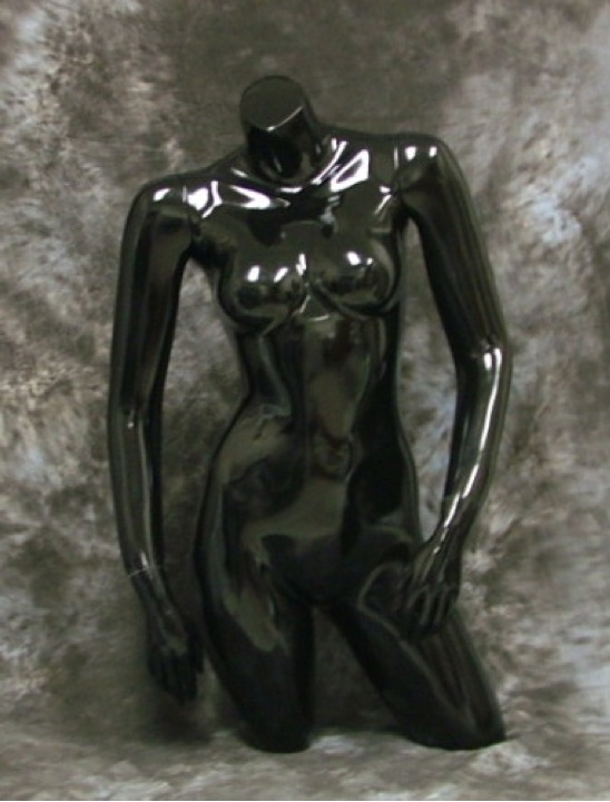 Female Torso Mannequin W/Arms Table Top Ph7