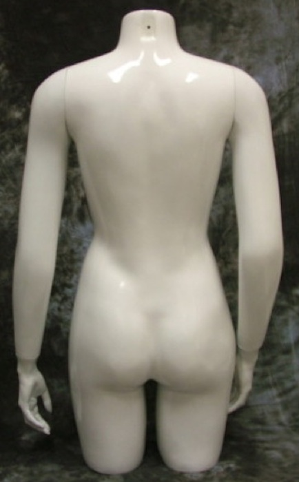 Female Torso Mannequin W/Arms Table Top WPH6