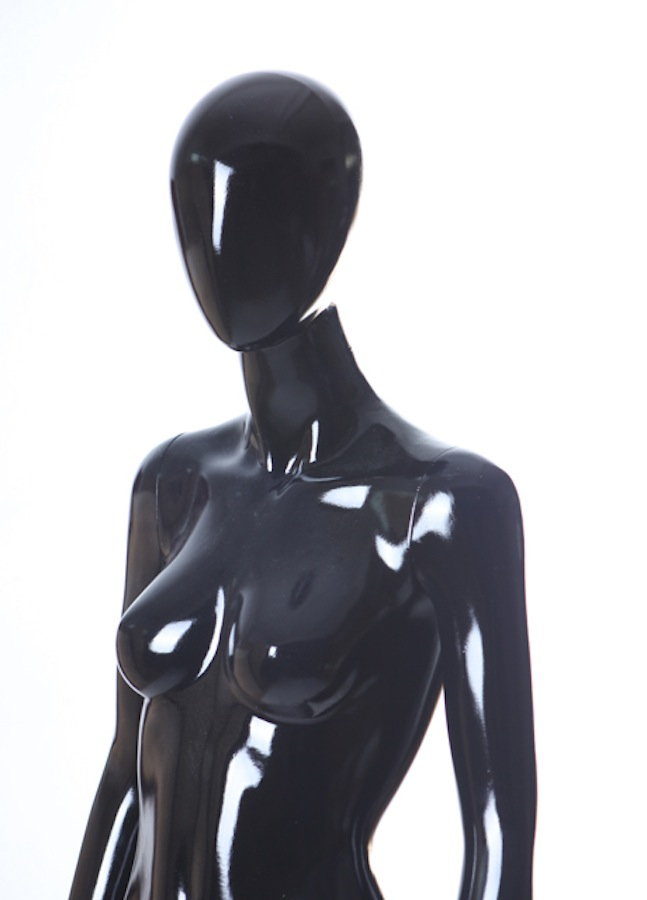 Female Fiberglass Egghead LGL3 Glossy Black