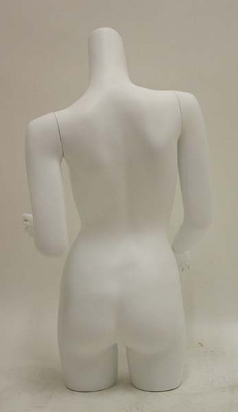 Female Torso Mannequin W/Arms Table Top WPH8