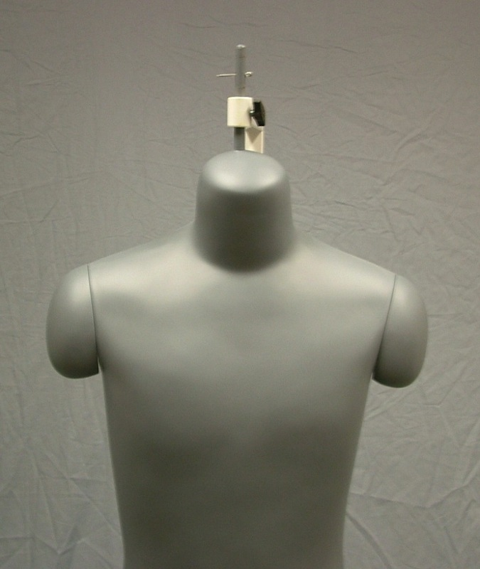 MALE 3/4 BODY SEWING DRESS FORM WHEEL BASE HMB7