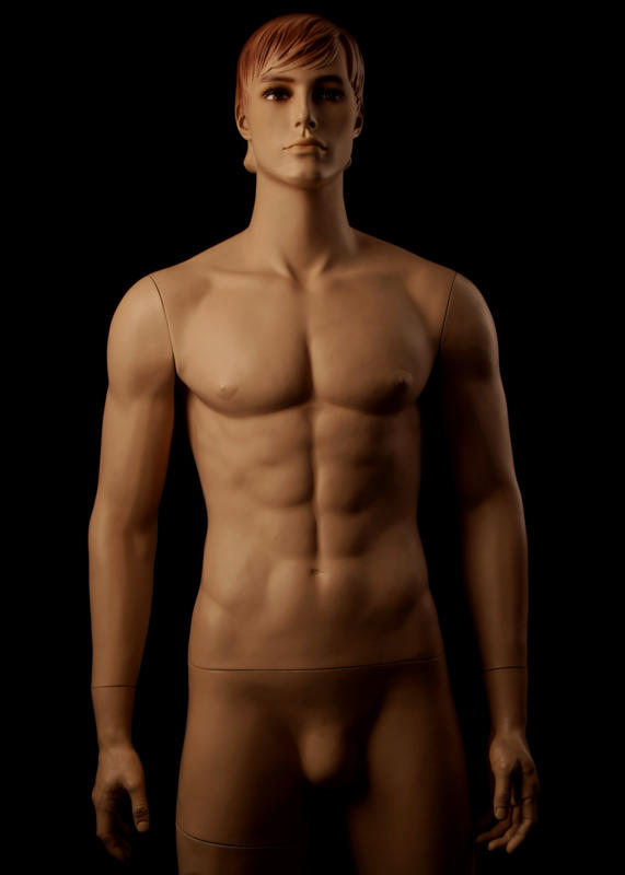 Male Fiberglass Mannequin Elvis Look Alike M-12