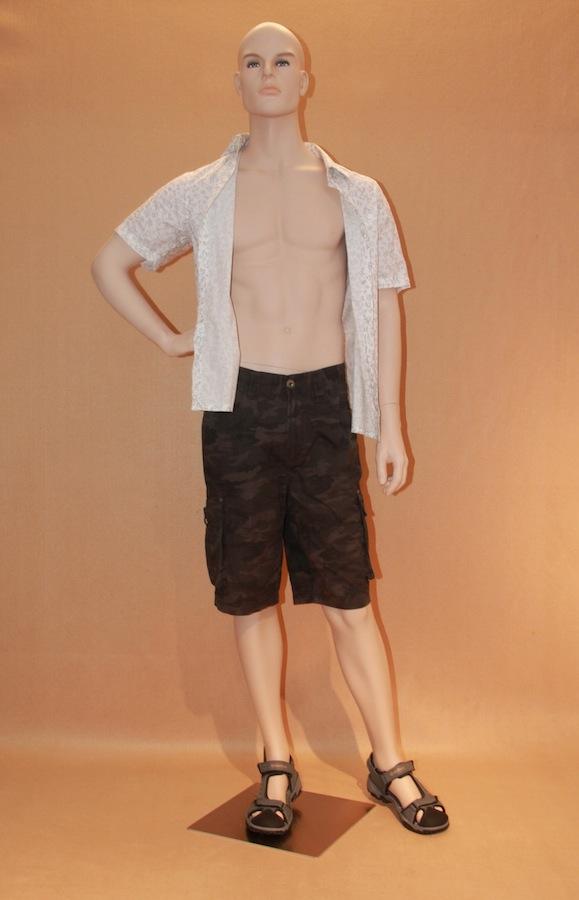 Male Fiberglass Mannequin JBD2