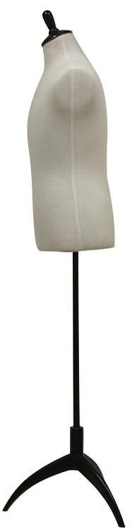 Tall Male Mannequin Dress Form Steel Tripod Base