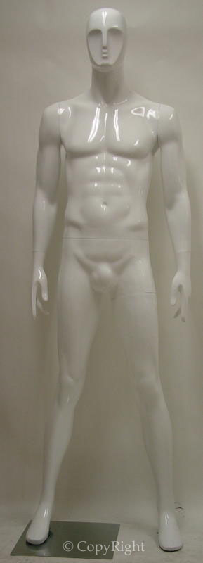 Male Fiberglass Angel Face