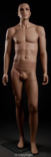 Male FiberGlass Realistic Mannequin (GM42)