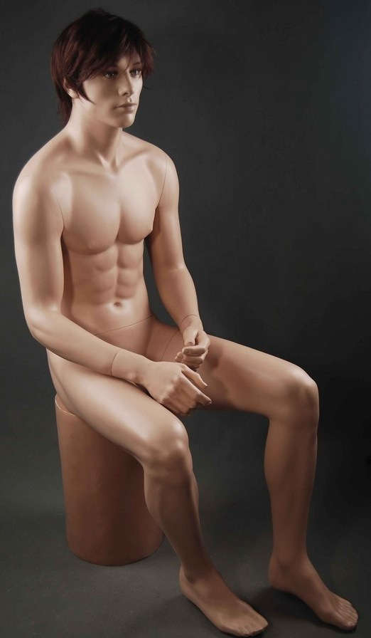 MALE MANNEQUIN REALISTIC NEW +BASE (ZM3)