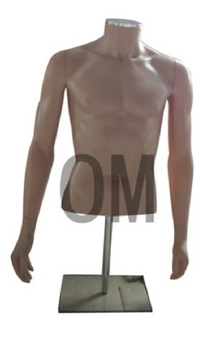 MALE MANNEQUIN TABLE TOP DRESS FORM HEADLESS FLSH TMS