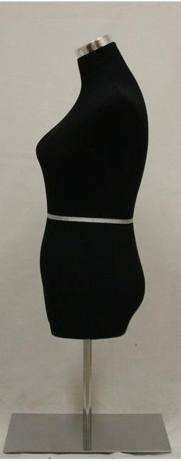 Female Mannequin Dress Form Steel Tripod Base AT45