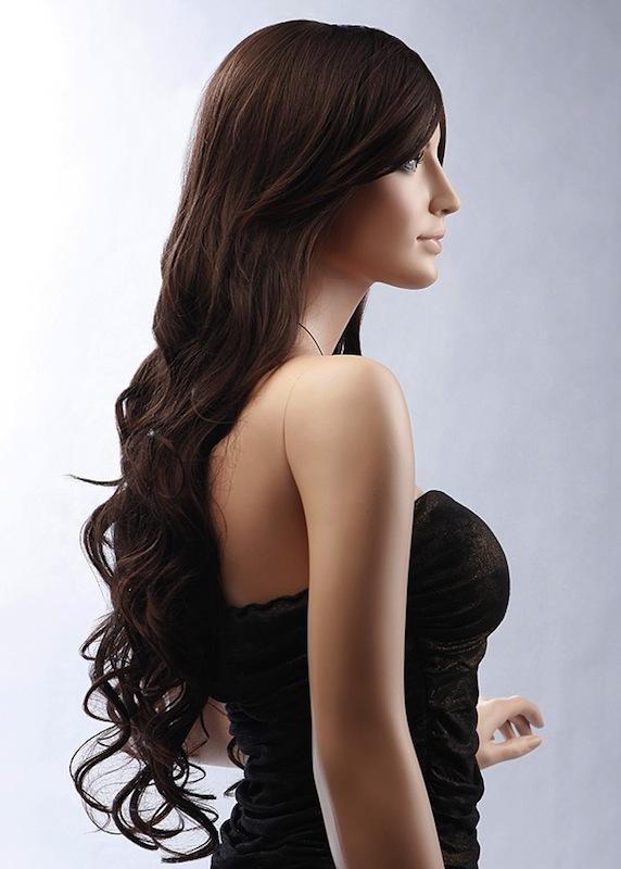 WIG Female Realistic Wig 7-3-6TR